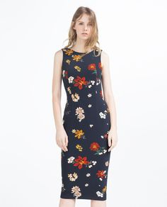 ZARA - WOMAN - FLORAL TUBE DRESS