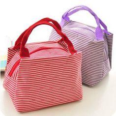 Barato Nova faixa de piquenique ao ar livre duplas Lunch Bag Box Container Cooler térmica impermeável Tote maquiagem para mulheres, Compro Qualidade Lancheiras diretamente de fornecedores da China: &nbsp