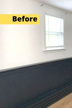 Check out this before and after board and batten accent wall idea you can do for cheap. Upgrading any wall is easy and makes your home and bedroom look more expensive. #diy #accentwall #wallmakeover Lighted Canvas, Diy Canvas, Diy Wall Art, Diy Wall Decor, Installing Wainscoting, Accent Wall Decor, Shabby Chic Painting, Good To Great, Patio Makeover