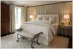 Blindsiding Cool Ideas: Curtains Behind Bed No Headboard curtains wall bathroom.Brown Curtains Inspiration curtains and blinds bathroom. Curtains Living Room, Bedroom Makeover, Window Behind Bed, Home Bedroom, Bedroom Design, Curtains Bedroom, Home Decor, Bedroom Inspirations, Curtains Behind Bed