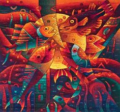 """Living Human Treasure"" - Maximo-Laura.  Peruvian-tapestry weaver"