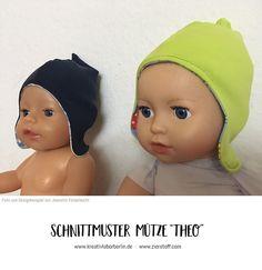 Mütze Theo genäht von Jeanette Kinderleicht