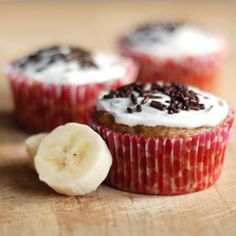 Sprinkle Charms: Vegan Banana Cupcakes
