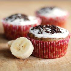 Sprinkle Charms: Vegan Banana Cupcakes