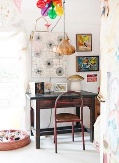 let's start with eclectic color / sfgirlbybay