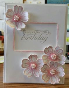 Flower Shop Pansy by Patti S. Brown - Cards and Paper Crafts at Splitcoaststampers