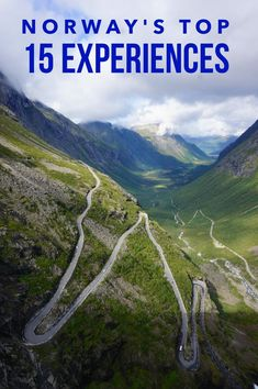 The top things to do and experiences in Norway-- and the souvenirs to remember them by. See the Norwegian fjords, drive the Troll's road in Trollstigen.