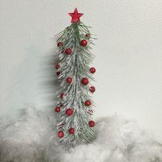 Miniature Christmas Tree,Miniature Dollhouse Christmas Tree,Fairy Christmas Tree,Terrarium,Cottage,Holiday,Miniature,Miniatures,Christmas by MyFairyPatch on Etsy