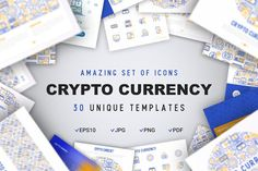 Crypto Currency Concept by Blogoodf on @creativemarket