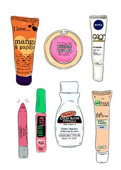 cut + paste paradise - Beauty essentials #1