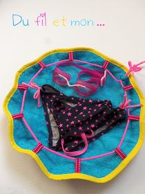 Du fil et mon...: Tuto : Sac Pieds Secs Sewing Hacks, Sewing Projects, Learn To Sew, Cute Crochet, Kids And Parenting, Diy For Kids, Diy And Crafts, Sewing Patterns, Creations