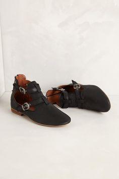 Adelena Flats in Black $108 - Anthropologie.com