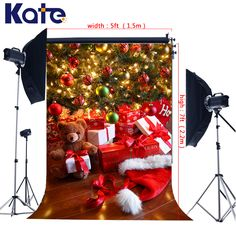 Find More Background Information about 5x7ft Kate Photography Christmas Backdrops Red Santa Claus Hat Wood Floor Background Christmas Tree for Newborn Photo,High Quality gift box tie,China box fan with remote Suppliers, Cheap gift box flash from Art photography Background on Aliexpress.com