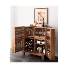 The bar is where folks wish to relax. The personal bars are often referred to as the mini bars. Based on the size and access to space, the kind of mini bar and its accessories should be held in mind… Continue Reading → Bar Sala, Bar Deco, Drinks Cabinet, Liquor Cabinet Ikea, Corner Liquor Cabinet, Diy Casa, Wine Cabinets, Kitchen Cabinets, Home Furniture