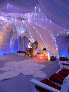 ice cave santas grotto - Google Search