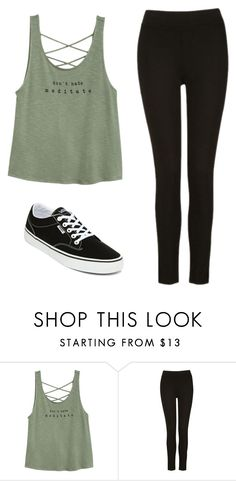 """""""Untitled #45"""" by makayla-16 ❤ liked on Polyvore featuring Vans"""