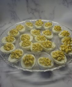 I made these last week for Father's Day, but I also serve them Thanksgiving, Christmas, New Year's Eve, 4th of July, Weddings, Showers, Brunches and of course Easter. Hellmans Mayo, Making Hard Boiled Eggs, Egg Ingredients, Dill Weed, Brunches, Deviled Eggs, Serving Platters, 4th Of July