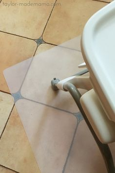 A clear office mat works perfectly as a splat mat under a high chair. Easy clean up for messy eaters!