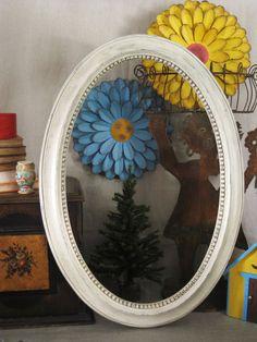 Large Oval Frame by shepshaberdashery