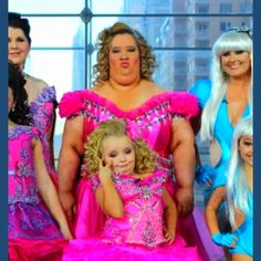 Toddlers and tiaras honey boo boo child