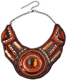 Collar étnico bordado