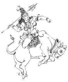 Tattoo sleeve drawings sketches new ideas Shiva Art, Krishna Art, Hindu Deities, Hinduism, Lord Shiva Family, Lord Shiva Painting, Shiva Tattoo, Indian Goddess, Shiva Wallpaper