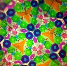 Kaleidoscope image- Lindsay Maines