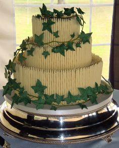 ivy wedding cake