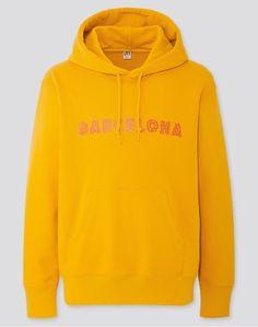CITY STORIES LONG-SLEEVE HOODED SWEATSHIRT | #Sweatshirt | #Hoodie | Hoodie Dress, Mens Sale, Mens Sweatshirts, Uniqlo, Simple Designs, Hoods, Sweatpants, Pullover, City
