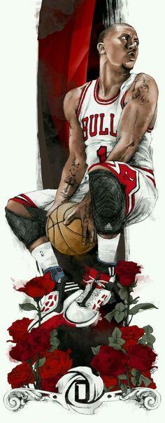 Derrick rose art