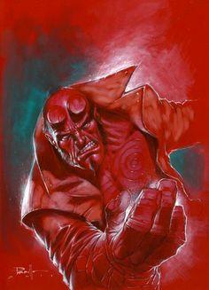 Hellboy by Lucio Parrillo