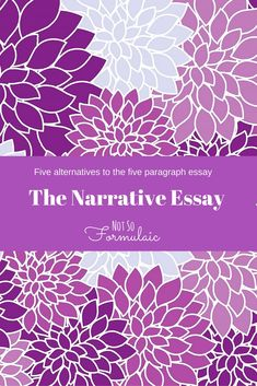 moving to the five paragraph narrative essay Narrative paragraphs page history last edited by pbworks 12 years, 3 months ago i thought the long line of traffic had started to move, but it hadn't here is my narrative paragraph.