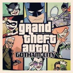 Grand theft auto Gotham City #Batman