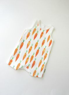 6b339e3331a ORGANIC baby romper-Tank top romper-Carrots romper-Baby gender neutral  romper- Toddler clothes-Baby organic summer clothing