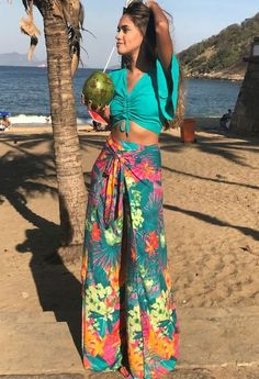 Style Fashion Tips Look by millenacyara on Chicisimo.Style Fashion Tips Look by millenacyara on Chicisimo Hawaii Outfits, Vacation Outfits, Summer Outfits, Beach Party Outfits, Boho Fashion, Spring Fashion, Fashion Outfits, Womens Fashion, Floral Fashion