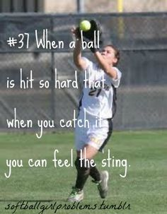 SoftBall Girl Problems so true haha. Funny Softball Quotes, Softball Cheers, Softball Pictures, Girls Softball, Softball Stuff, Softball Things, Volleyball Quotes, Volleyball Gifts, Coaching Volleyball