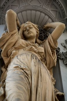 Jugendstil caryatid in Vienna, Austria. Just gorgeous.