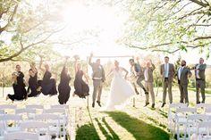 Real Wedding: Mallorie + Taylor's Texan Wedding - DIY Bride || Pharris Photos