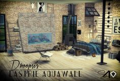 Sims 4 Designs: Droopsi Lastrie Aquawall • Sims 4 Downloads