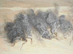 Gotland-Fins gewassen Fleece 100 gr. van SussesSpindehjrne op Etsy