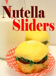Nutella Sliders~Fun Kid Friendly Recipe!!