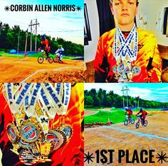 ✴DeeDee Norris- Our Son, Corbin Norris, Winning 1st Place In His First BMX Race Of The Year✴
