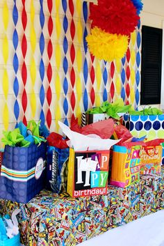 """Photo 1 of 11: Superhero / Birthday """"Conner's 4th Birthday Party""""   Catch My Party"""