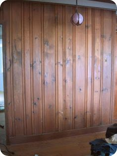 Staining Wood Paneling Without Sanding Need This For The