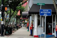 Brevard, NC - One of my favorite towns.  Great shops and restaurants.