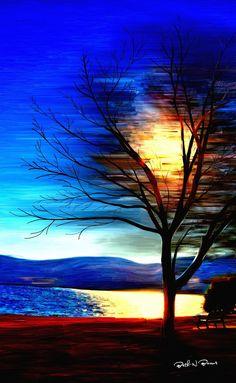 Sunshine  Digital Painting  Elizabeth Barros