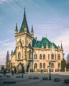 Košice, Slovakia Beautiful Mosques, Beautiful Castles, Beautiful Places, Bratislava, Places In Europe, Places To See, Map Pictures, Central Europe, Adventure Is Out There
