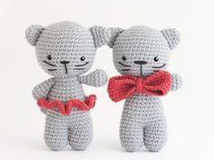 Amigurumi gatitos (enlace a patron gratis)