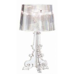 Buy Bourgie Table Lamp from Kartell. Actually, we're not but Kartell is, especially with a classic like Bourgie. Decor, Table Lamp Design, Bourgie Kartell, Lamp Shade, Bourgie Lamp, Crystal Lamp, Lamp Light, Kartell Bourgie Table Lamp, Light Table