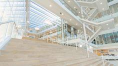 In opdracht van AOS Group (Advies- en projectmanagement bureau op het gebied van huisvesting) heeft MediaHunch een video geproduceerd voor een van haar showcase projecten. Bij de ontwikkeling van nieuwe Nutricia Research Center ( #Danone ) op het Utrecht Science Park heeft AOS onder andere de kantoorinrichting verzorgd.
